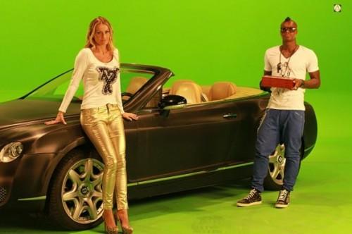 Cissé ed Eva Henger attori per il video di Puff Daddy